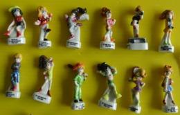 Fève - Série Complète 1997 - Polly Pocket - Poupée - 1997 Bluebird Toys (UK) Sur Le Socle - Personen