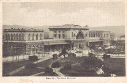 Cartolina - Livorno, Stazione. - Livorno