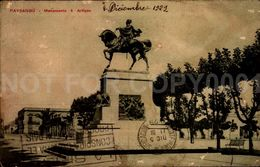 Paysandu Monumento A Artigas Uruguay Postcard Cpa (w6-42) - Uruguay