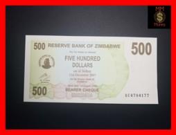 ZIMBABWE 500 $ 1.8.2006  P. 43  UNC - Zimbabwe