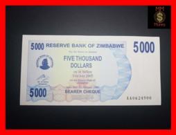 ZIMBABWE 5.000 5000  $ 1.2.2007  P. 45   UNC - Zimbabwe