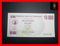 ZIMBABWE 10.000 10000  $ 1.8.2006  P. 46 B   UNC - Zimbabwe