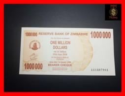 ZIMBABWE 1.000.000 1000000  $ 1.1.2008  P. 53  UNC - Zimbabwe