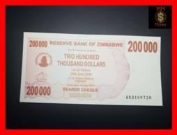ZIMBABWE 200.000 200000  $ 1.7.2007  P. 49   UNC - Zimbabwe