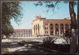 Turkmenistan - Ashkhabad. Mollanepes Drama Theatre - Turkmenistan