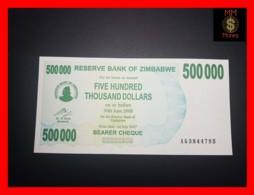 ZIMBABWE 500.000 500000  $ 1.7.2007  P. 51   UNC - Zimbabwe