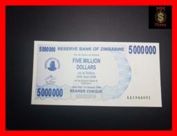 ZIMBABWE 5.000.000 5000000  $ 1.1.2008  P. 54  UNC - Zimbabwe