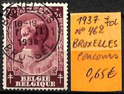 [831578]TB//O/Used-Belgique 1937 - N° 462, 70c, BRUXELLES, Concours - Belgien
