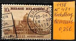 [831586]TB//O/Used-Belgique 1938 - N° 471, KOEKELBERG, BRUXELLES - Belgien