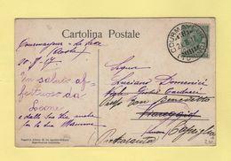 Italie - Courmayeur - Torino - 1917 - Marcofilía