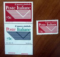 1994/1995 ITALIA Poste Italiane Nuovo Simbolo Lire 750 Nuovo - 1991-00:  Nuovi