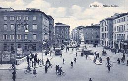 Cartolina - Livorno, Piazza. - Livorno