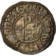 Monnaie, France, Eudes, Denier, 888-898, Blois, TTB+, Argent, Prou:482 - 751-987 Monnaies Carolingiennes