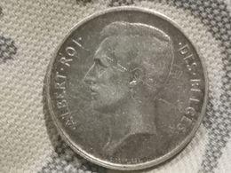 2 Francs - Albert Ier En Français 1911 - 1909-1934: Alberto I
