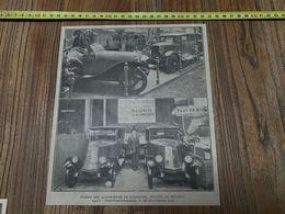 ANNEES 20/30 STAND DES AUTOMOBILES TH SCHNEIDER BUGATTI ET RENAULT 3 RUE SAINT GENOIS LILLE - Old Paper