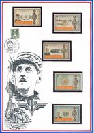 SHARJAH - 5 TIMBRES NEUFS GENERAL DE GAULLE - De Gaulle (General)