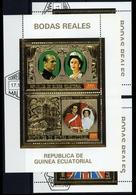 1973, Äquatorial-Guinea, Bl. 88 U.a., Gest. - Äquatorial-Guinea