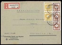 1945, SBZ Ostsachsen, 42 A (3) U.a., Brief - Sowjetische Zone (SBZ)