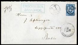 1891, Russland, U 31, 42x U. 51x, Brief - Unclassified