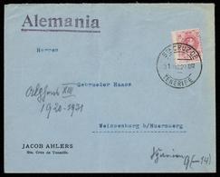 1922, Spanien, 238, Brief - Spanien