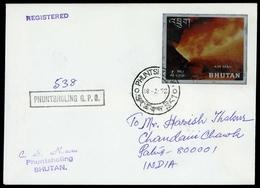1969, Bhutan, 294 U.a., Brief - Bhutan