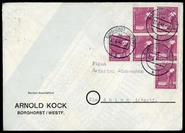 1947, Gemeinschaftsausgaben, 954 (6), Brief - Zone AAS