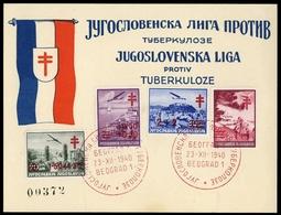 1940, Jugoslawien, 429-32, FDC - Non Classificati