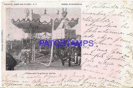 1134912 URUGUAY PIEDRA FUNDAMENTAL COLOCANDO LA PRIMERA PIEDRA BREAK  POSTAL POSTCARD - Uruguay