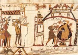 Tapisserie De Bayeux Harold Est Averti De L Apparition D Une Comete Presage De Malheur 11(scan Recto-verso) MA377 - Bayeux