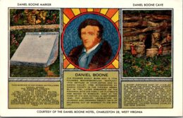 West Virginia Daniel Boone Marker And Cave - Charleston