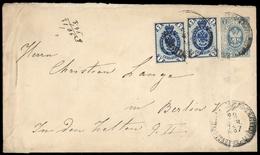 1883, Russland, U 30 C, 33 A, Brief - Unclassified