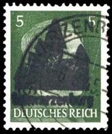 1945, Deutsche Lokalausgabe Schwarzenberg, 4 II, Gest. - Non Classificati
