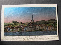AK YBBS A.d.Donau B. Melk Alufolie !! 1911  //  D*44369 - Melk