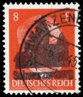 1945, Deutsche Lokalausgabe Schwarzenberg, 6 II, Gest. - Non Classificati