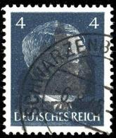 1945, Deutsche Lokalausgabe Schwarzenberg, 3 II, Gest. - Non Classificati