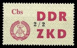 1964, DDR Verwaltungspost C Laufkontrollzettel ZKD, 47 II, * - [6] République Démocratique
