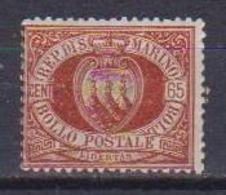 REPUBBLICA DI SAN MARINO 1892-94 CIFRA O STEMMA SASS. 19 MNH XF - Saint-Marin
