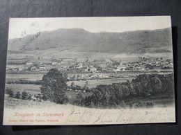 AK KRIEGLACH B. Mürzzuschlag 1904  //  D*44373 - Krieglach