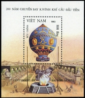1983, Vietnam Nord Und Republik, Block 15, ** - Vietnam