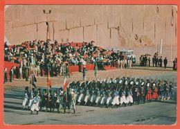 IRAN - 19?? - Broken Stamp - Parade At Persepolis - Viaggiata Per Urbino, Italy - Iran