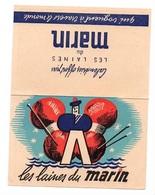 """Calendrier """"LES LAINES DU MARIN"""" De 1949 - Voir Scan - Small : 1941-60"""