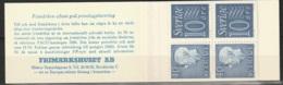 Sweden,  1965  -Booklet Gustav VI & Numeral Stamps MNH** Yv. C470a(II) HA12 - Carnets