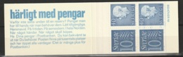 Sweden,  1965  -Booklet Gustav VI & Numeral Stamps MNH** Yv. C470a(III) HA12 - Carnets