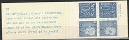 Sweden,  1966  -Booklet Gustav VI & Numeral Stamps MNH** Yv. C470 HA12 - Carnets