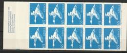 Suede, Sweden - 1971 Nils Holgersson.  Carnet C707b MNH/**/ Postfrisch. Bird, Goose - Carnets