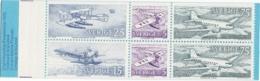 Suede, Sweden - 1972 Avions Posteaux - Postal Planes. Yvert Carnet C740 MNH/**/ Postfrisch - Carnets