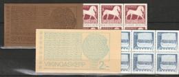 Sweden,  1973 Gotland. C778b + C779b ** MNH/Postfrisch Papier Fosforescent - Carnets