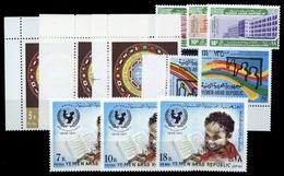 1972, Jemen Nord , 1495-97 U.a, ** - Jemen