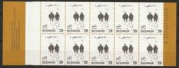 Sweden,  1977 Evert Taube C962 ** MNH/Postfrisch H297 - Carnets