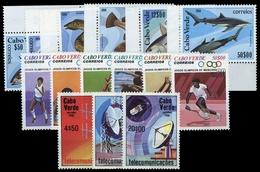 1980, Kap Verde, 407-12 U.a., ** - Isola Di Capo Verde